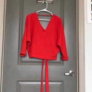 River Island Neo Red Blouse